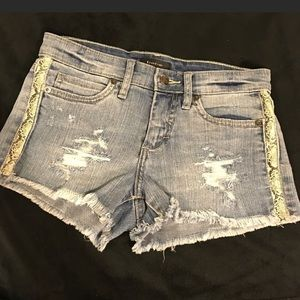 Bebe Cut-off Denim Shorts